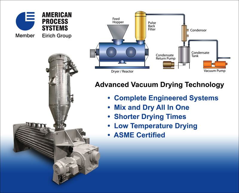 dryers and reactors vacuum dryer vacuum drying eirich machines